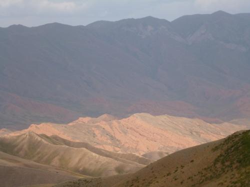 Petit tour du Kirghizstan a pedales...