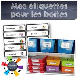 Boîtes et étiquettes en tous genres