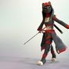 Ninja catgirl
