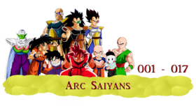 DRAGON BALL KAI - ARC SAIYAN