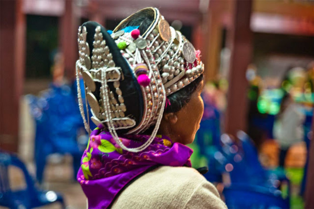 coiffure Akha - Luang Namtha