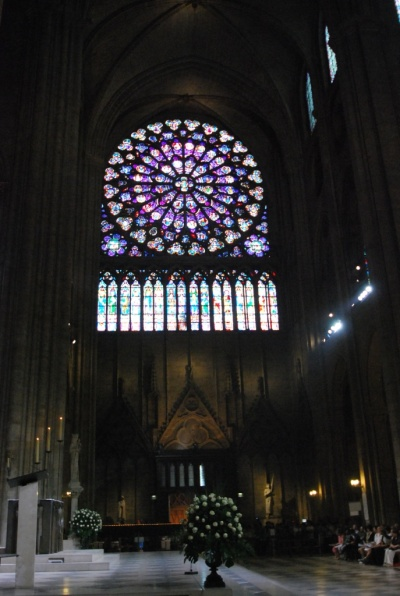 Cathédrale de Paris, ces vitraux