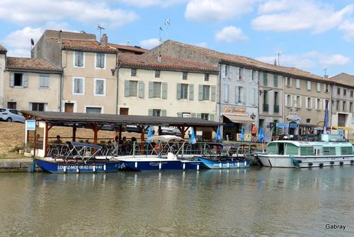 Castelnaudary : port du Canal du Midi ... n1