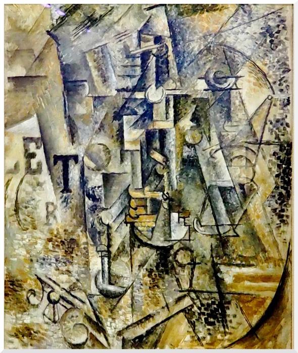 Exposition Le Cubisme au Centre Pompidou. Paris