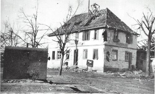Etape n° 36 - du 7 au 12 Janvier 1945 - B.I.M.P et 1er R.A. dans la Défense de Rossfeld et d'Herbsheim