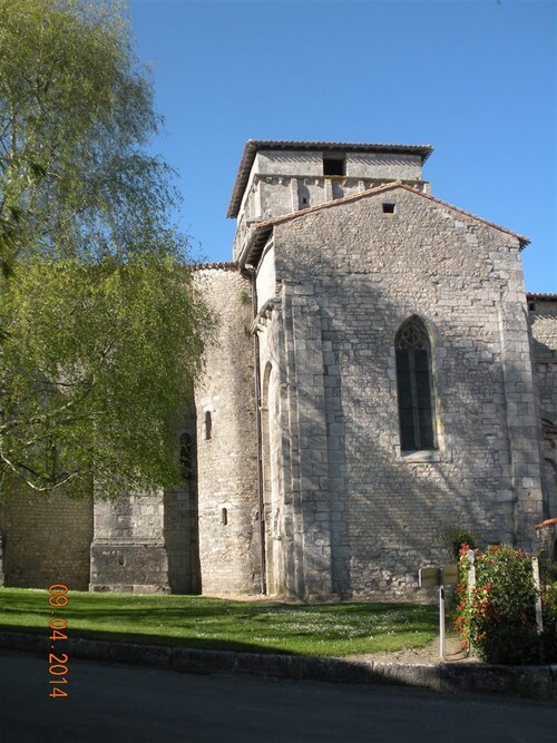 Eglise Notre Dame ( Berneuil - Charente )