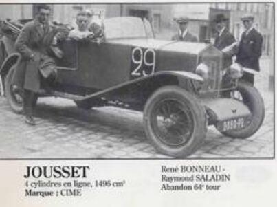 Le Mans 1926 Abandons