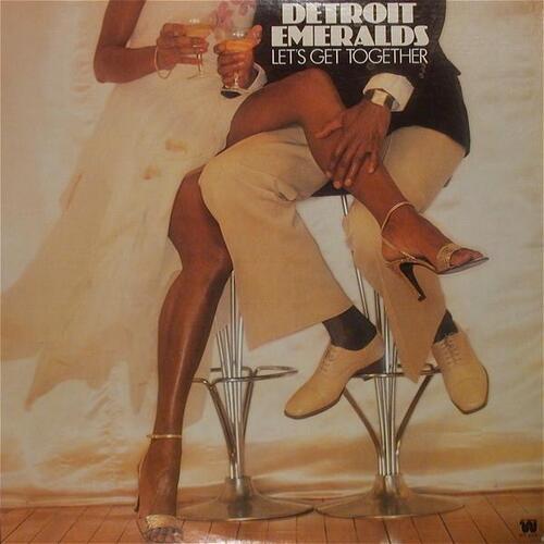 "Detroit Emeralds : Album "" Let's Get Together "" Westbound Records WT 6101 [ US ]"