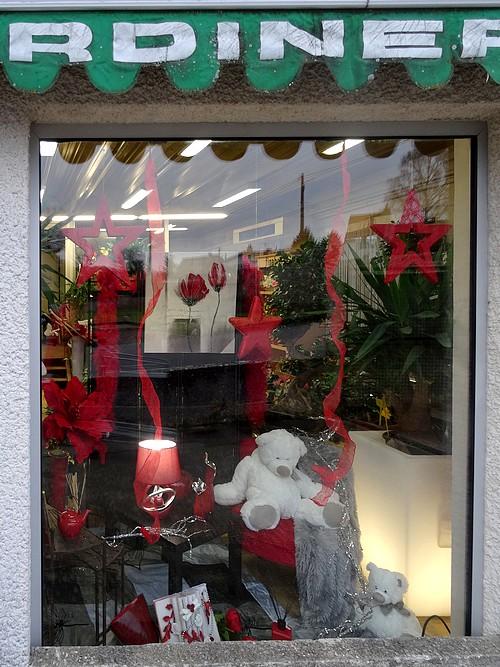 Les commerçants châtillonnais ont réalisé de belles vitrines pour les fêtes de fin d'année 2015