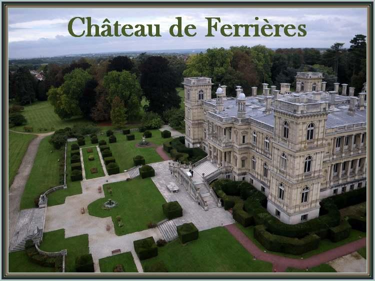 Château de Ferrières en Brie (Val de Marne)