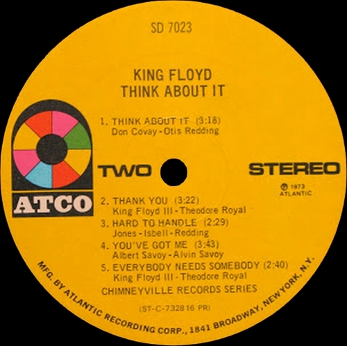 "King Floyd : Album "" Think About It "" Atco Records SD 7023 [ US ]"