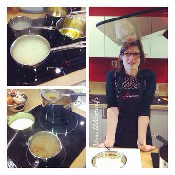 J'ai fait un atelier cuisine chez Avec ou sans Toque