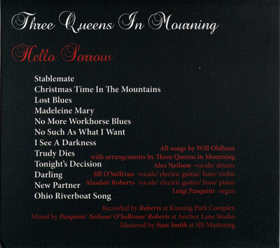 Covers : Bonnie 'Prince' Billy & Three Queens In Mourning - Hello Sorrow Hello Joy [2020)