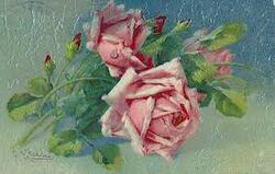 ~~ Ces roses que tu aimais ~~ par Marielle.