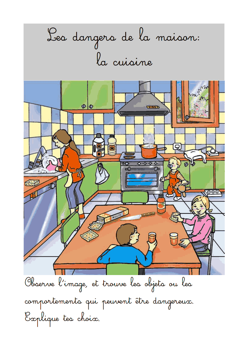 Instruction civique: Les risques de la maison