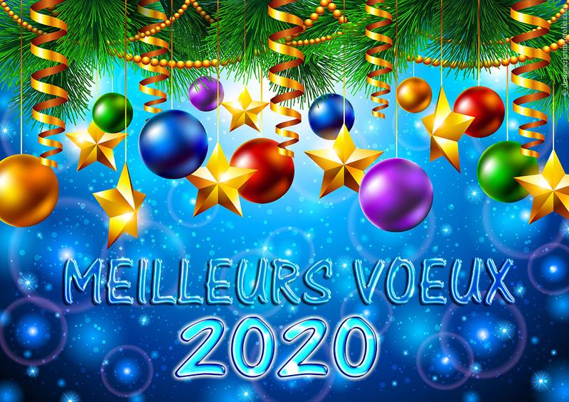 BONNE ET HEUREUSE ANNEE 2020 !