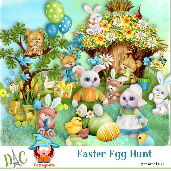 Easter Egg Hunt by Kastagnette + Free QP