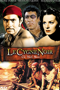 Le Cygne noir, un film de 1942  : Le roi d'Angleterre décrète l'amnistie de tous les pirates du royaume s'ils s'engagent à renoncer au crime. Sa respectabilité retrouvée, le pirate Morgan devient gouverneur de la Jamaïque. Son ami James Haring, considérant ce revirement comme une trahison, rejoint l'équipage du réfractaire capitaine Leech. Haring tombe alors amoureux de Margaret Denby, la fille de l'ancien gouverneur, et décide de changer de vie. Il s'oppose dès lors à son ancien allié. ..... ----- ..... Titre original : The Black Swan Réalisateur(s) : Henry King Acteurs(s) : Tyrone Power, Maureen O'Hara, Laird Cregar, Thomas Mitchell, George Sanders, Anthony Quinn, George Zucco, Clarence Muse, Helene Costello Genre(s) : Action, Aventure Année de sortie(s) : 1942 Pays : United States of America Distributeur : 20th Century Fox
