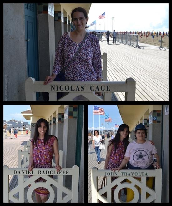 Deauville : Les planches et la plage