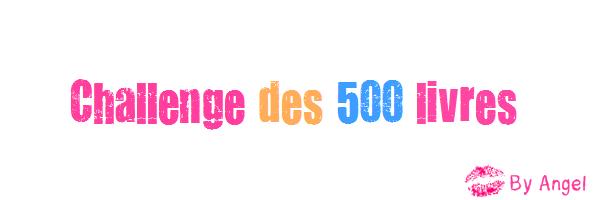 Le challenge des 500 livres