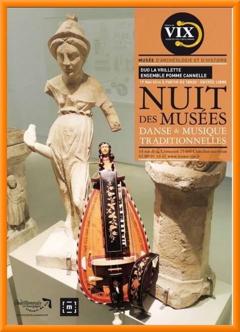 Animations pour la Nuit des Musées, au Musée du Pays Châtillonnais-Trésor de Vix...