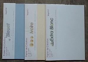 papier bleuet ivoire extra blanc