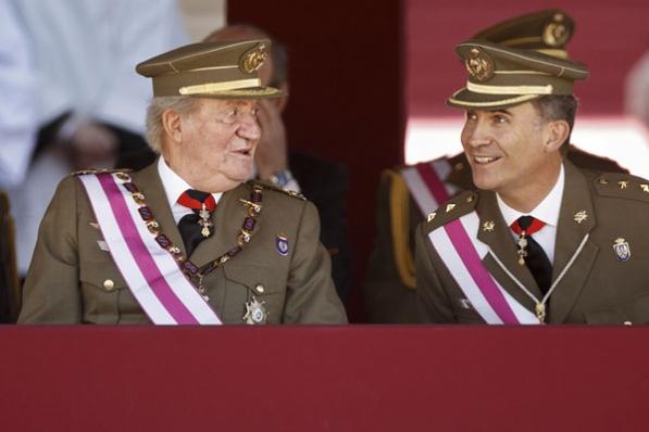 Juan Carlos et Felipe