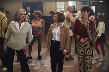 Finding Your Feet : Photo Celia Imrie, Imelda Staunton, Joanna Lumley