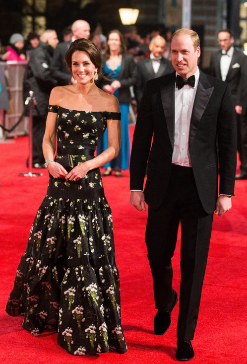 The British Academy Film Awards 2017 - Will et Kate