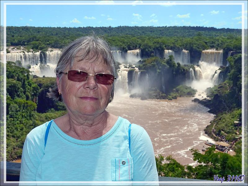 Les chutes d'Iguaçu vues de différents points de vue - Foz do Iguacu - Brésil