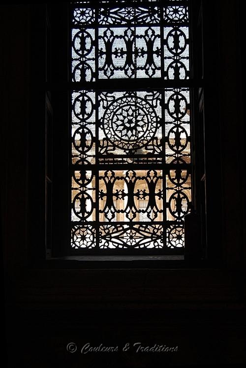 L'intérieur de la Mosquée Mohamed Ali