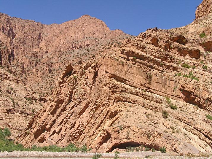 Montagne dans le Haut Atlas