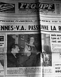 Février 1965 : Sheila tire les 8èmes de finale !