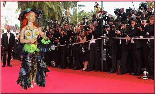 Défilé  des Stylistes 2014 (2) La montée des Marches à Cannes
