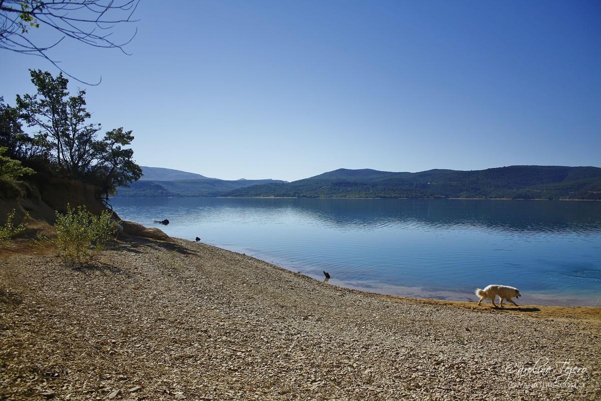 Le lac de Sainte-Croix, Alpes de Haute-Provence