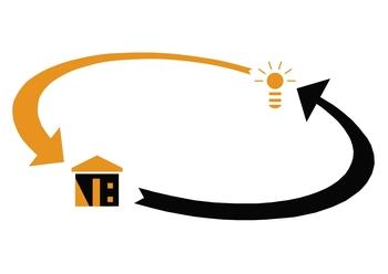 logo nicolas bregant projeteur