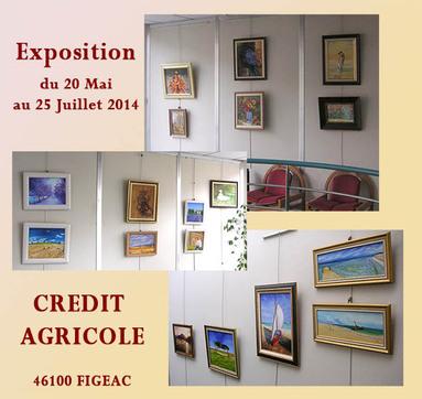 exposition credit agricole peinture