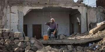 A Rakka, l'ancien fief syrien de l'organisation Etat islamique repris par les forces kurdes, le 16 novembre.