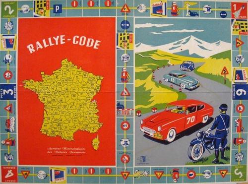 Rallye code