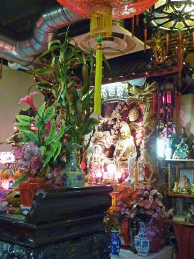 Autel de culte de Bouddha autel 2