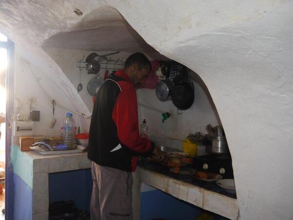 Lahocine en cuisine