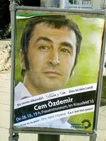 Özedemir-Plakat in Bonn
