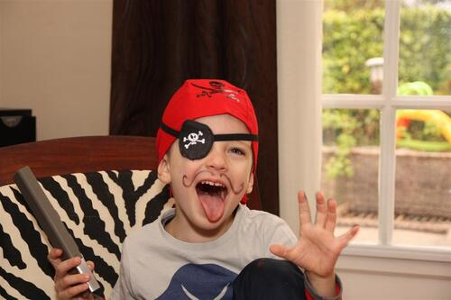 Un petit pirate
