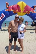 Lundi 25 juillet - étape finale : Mounir et Dominique radieux à Cabo Negro