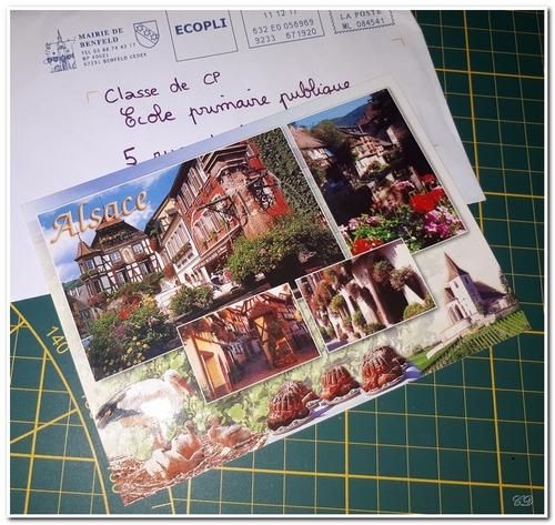 Correspondance et cartes postales