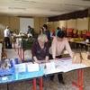 Accueil : accueil et distri des pains et laitiers de vache
