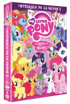 La fin de la saison de My Little Pony sort bientôt en DVD