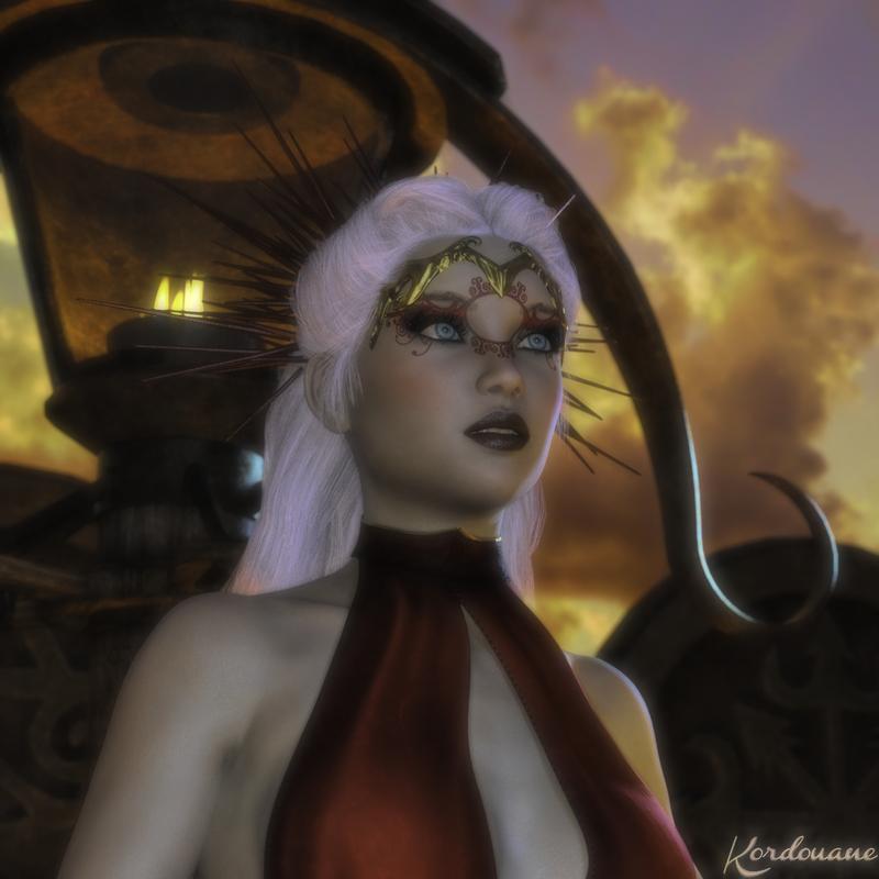 Création : Portrait de femme fantasy