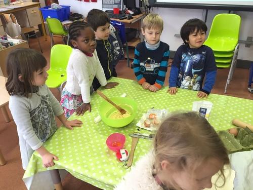 Pâtissiers en maternelle