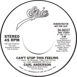 Carl Anderson - Can't Stop This Feeling